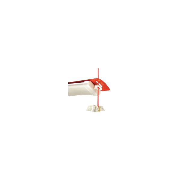 Guida laterale con attacco in PVC